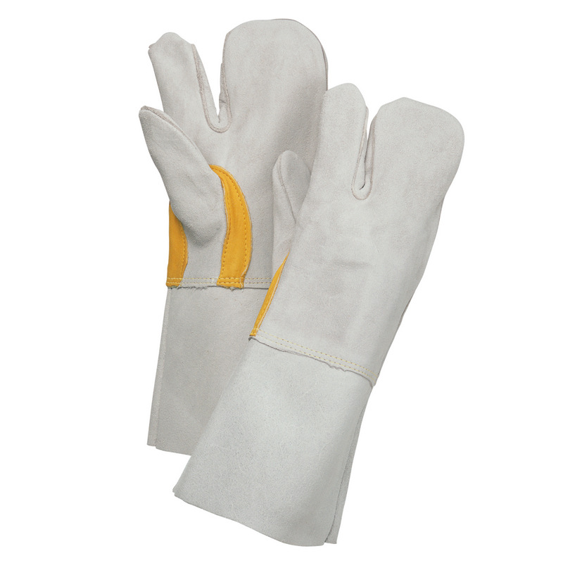 FKT31Y 溶接用皮手袋3本指 ミツ子