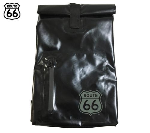 66-75 ルート66 防水リュック(黒)