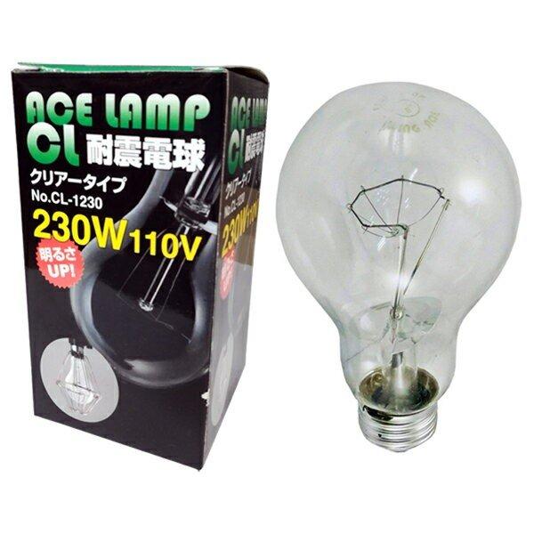 CL-1230 耐震電球 クリアータイプ ACE LAMP 当日出荷