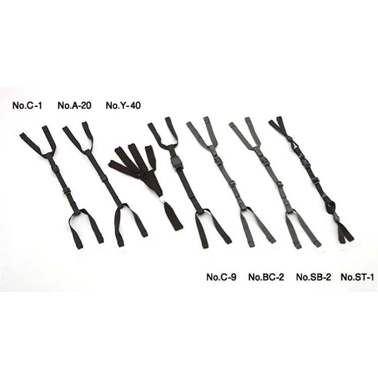 SB-2 ワンタッチ式アゴヒモ 微長炭入帯電防止糸ステッチ トーヨーセーフティ