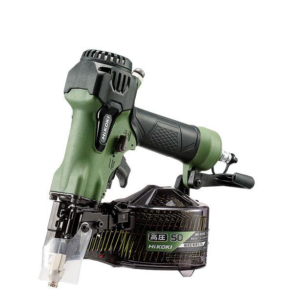 NV50H2(SAG) 高圧ロール釘打機 ハイコーキ(日立工機) 限定色アブソリュートグリーン