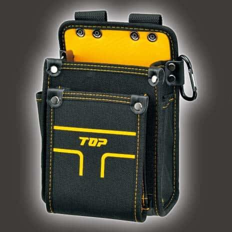 TPD-201S 電工用腰袋2段タイプ(小) トップ工業