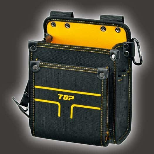 TPD-201M 電工用腰袋2段タイプ(中) トップ工業