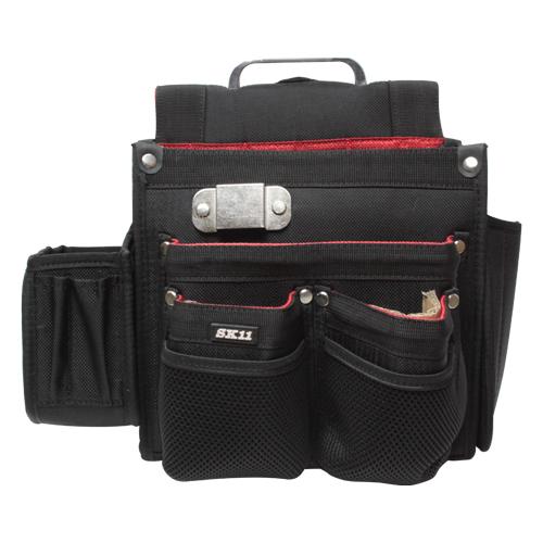 SC-10 仮枠大工腰袋 ブラック SK11