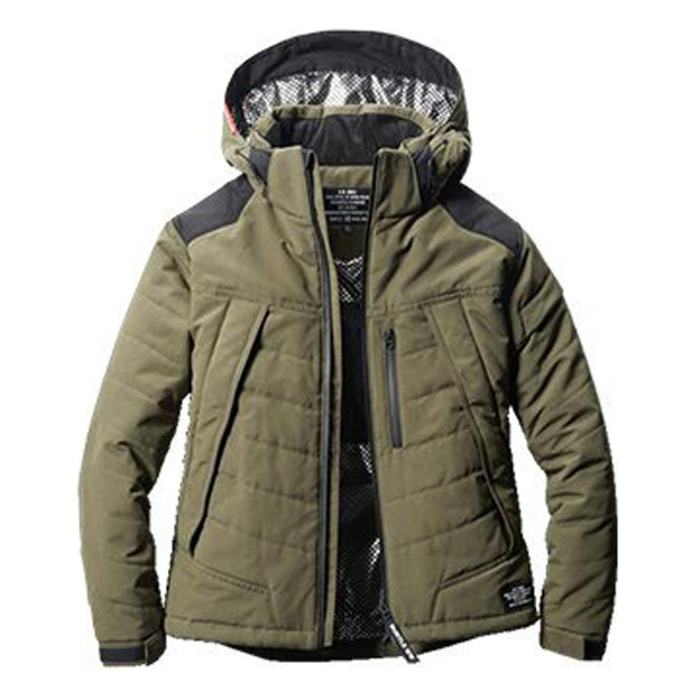 5270 防寒ジャケット(大型フード付き) アーミカーキ バートル(BURTLE)