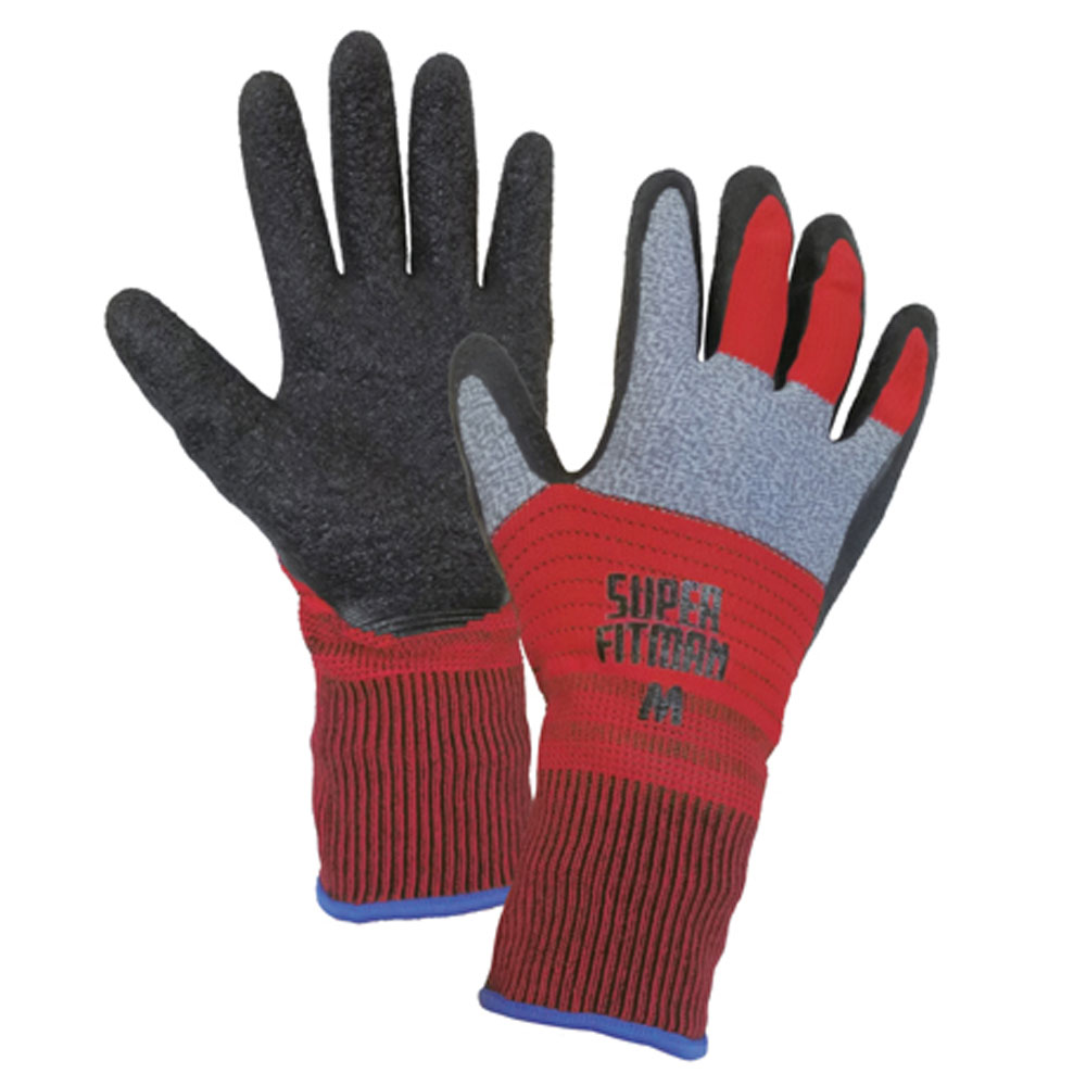 9672 スーパーフィットマン マルチカラー 富士手袋(FUJITE)