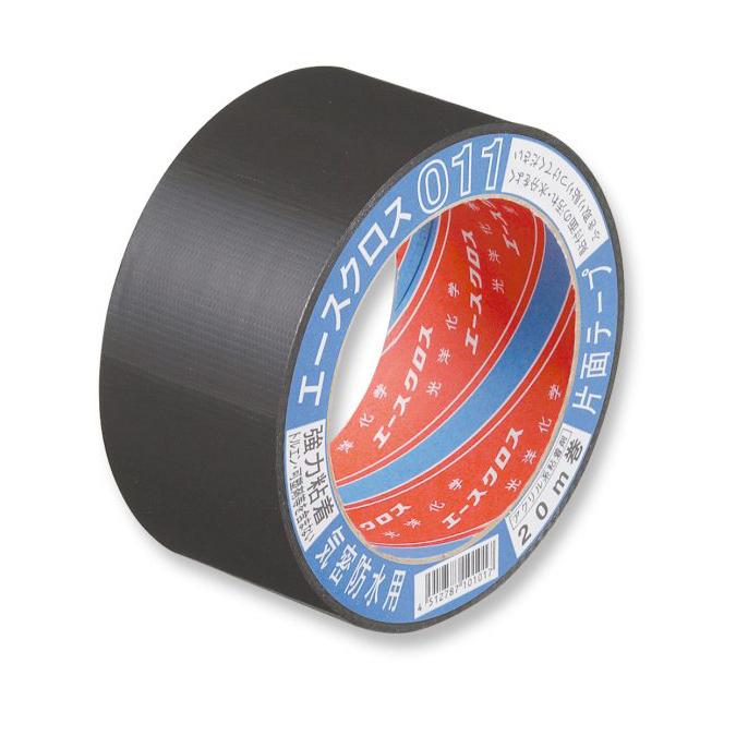 エースクロス011(黒) 気密防水用 片面テープ(50mm/75mm) 光洋化学