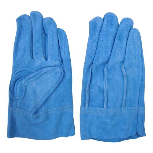 38-14 ハイパートコテ 背縫い ブルー フジテ(富士手袋) メール便