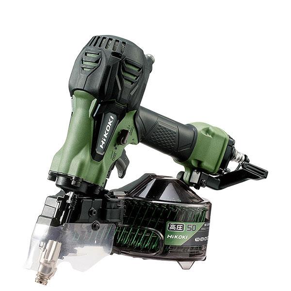 NV50HR2 高圧ロール釘打機 ハイコーキ(日立工機) 限定色アブソリュートグリーン