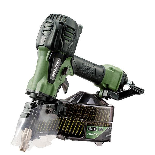 NV65HR2 高圧ロール釘打機 ハイコーキ(日立工機) 限定色アブソリュートグリーン