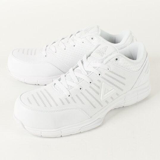 WOK-4505 安全靴 ホワイト ピーク(PEAK) 送料無料